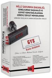 Yargı Yayınları - GYS Milli Savunma Bakanlığı Çıkmış ve Çıkması Muhtemel Sorular Eşliğinde Konu Anlatımı Yargı Yayınları