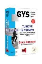 Yargı Yayınları - GYS Türkiye İş Kurumu Açıklamalı ve Çözümlü Soru Bankası Yargı Yayınları