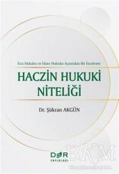 Der Yayınları - Haczin Hukuki Niteliği