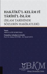 Akademisyen Kitabevi - Haka'ikü'l-Kelam Fi Tarihi'l-İslam