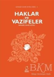 Server Yayınları - Haklar ve Vazifeler