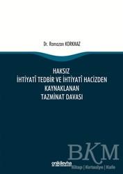 On İki Levha Yayınları - Haksız İhtiyati Tedbir ve İhtiyati Hacizden Kaynaklanan Tazminat Davası