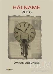 Ütopya Yayınevi - Halname 2016