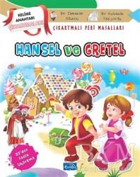 Parıltı Yayınları Boyama ve Çıkartma Kitapları - Hansel ve Gretel - Çıkartmalı Peri Masalları