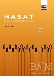 Eğitim Yayınevi - Ders Kitapları - Hasat - Piyano İçin 11 Türkü Düzenlemesi