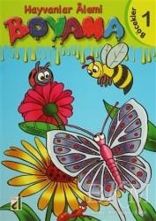 Damla Yayınevi - Özel Ürün - Hayvanlar Alemi Boyama (8 Kitap Takım)