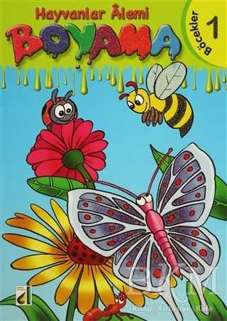 Hayvanlar Alemi Boyama 8 Kitap Takım Bkm Kitap