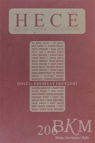 Hece Aylık Edebiyat Dergisi Sayı: 206
