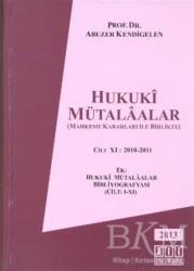 On İki Levha Yayınları - Hukuki Mütalaalar Cilt 11: 2010 - 2011