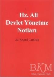 Cinius Yayınları - Hz. Ali Devlet Yönetme Notları