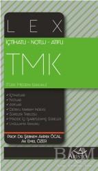 Aristo Hukuk Yayınevi - İçhatlı Notlu Atıflı Lex Türk Medeni Kanunu TMK