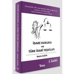 Temsil Kitap - İdare Hukuku ve Türk İdari Teşkilatı