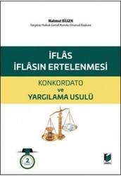 Adalet Yayınevi - Ders Kitapları - İflas ve İflasın Ertelenmesi