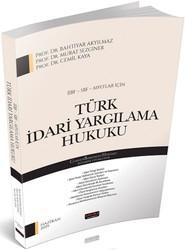 Savaş Yayınevi - İİBF SBF MYO lar İçin Türk İdari Yargılama Hukuku