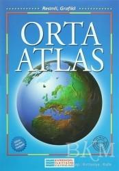 Evrensel İletişim Yayınları - İlköğretim Orta Atlas (Resimli - Grafikli)