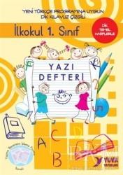 Yuva Yayınları - İlkokul 1. Sınıf Yazı Defteri-Dik Temel Harflerle
