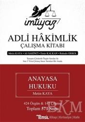 Temsil Kitap - İmtiyaz Adli Hakimlik Çalışma Kitabı - Anayasa Hukuku