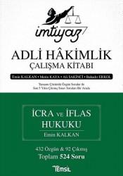 Temsil Kitap - İmtiyaz Adli Hakimlik Çalışma Kitabı - İcra ve İflas Hukuku