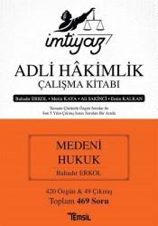 Temsil Kitap - İmtiyaz Adli Hakimlik Çalışma Kitabı - Medeni Hukuk