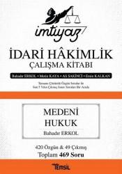 Temsil Kitap - İmtiyaz İdari Hakimlik Çalışma Kitabı - Medeni Hukuk