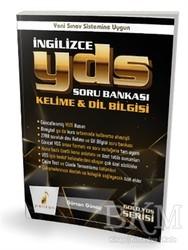 Pelikan Tıp Teknik Yayıncılık - KPSS - GY - GK - ÖABT Kitapları - İngilizce YDS Soru Bankası Kelime ve Dil Bilgisi