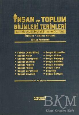 İnsan ve Toplum Bilimleri Terimleri Ansiklopedik Sosyal Bilimler Sözlüğü- İngilizce-Almanca Karşılıklı- Türkçe Açıklamalı