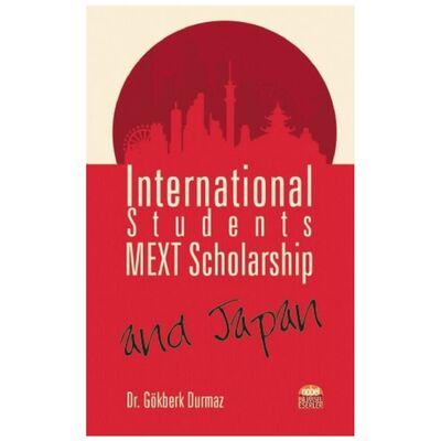 International Students MEXT Scholarship and Japan Nobel Bilimsel Eserler