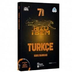 İSEM Yayıncılık - İsem 7. Sınıf Hızlı İsem Türkçe Soru Bankası İsem Yayıncılık