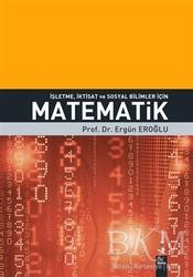 Dora Basım Yayın - İşletme, İktisat ve Sosyal Bilimler İçin Matematik