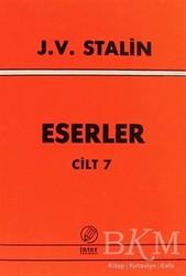 İnter Yayınları - J. V. Stalin Eserler Cilt 7