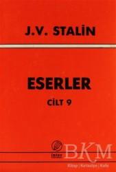 İnter Yayınları - J. V. Stalin Eserler Cilt: 9