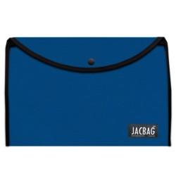 Jacbag - Jacbag Çıtçıtlı A4 Boyutunda Dosya Jac-37 Saks