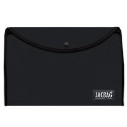 Jacbag - Jacbag Çıtçıtlı A4 Boyutunda Dosya Jac-37 Siyah