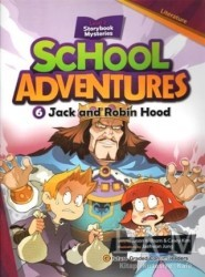 e-future - Jack and Robin Hood +CD (School Adventures 2)