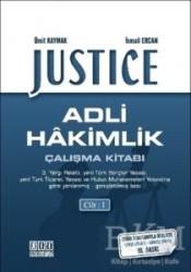 On İki Levha Yayınları - Justice - Adli Hakimlik Çalışma Kitabı (2 Cilt)