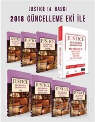 Kuram Kitap - Justice Adli Hakimlik Çalışma Kitabı Modüler Set - 8 Kitap ve 2018 Güncelleme Eki