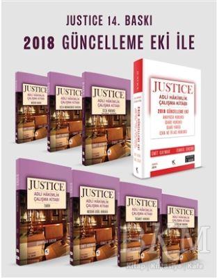 Justice Adli Hakimlik Çalışma Kitabı Modüler Set - 8 Kitap ve 2018 Güncelleme Eki