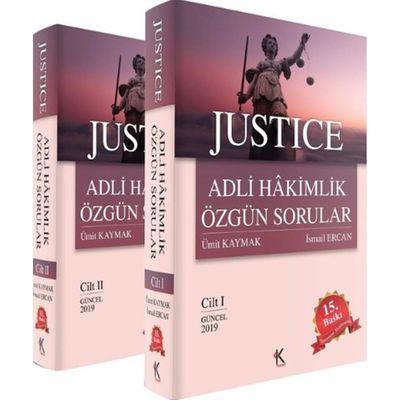 Justice Adli Hakimlik Özgün Sorular 2 Cilt Takım