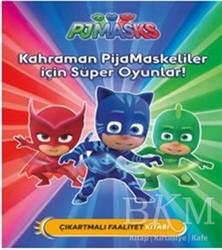Doğan Egmont Yayıncılık - Pjmasks Maskeliler - Kahraman PijaMaskeliler İçin Süper Oyunlar!