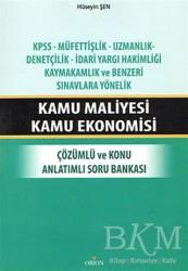 Orion Kitabevi - Kamu Maliyesi Kamu Ekonomisi
