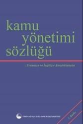 Todaie Yayınları - Kamu Yönetimi Sözlüğü