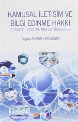 Siyasal Kitabevi - Akademik Kitaplar - Kamusal İletişim ve Bilgi Edinme Hakkı
