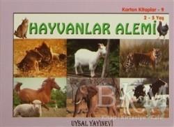 Uysal Yayınevi - Karton Kitaplar 9 - Hayvanlar Alemi