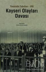 Kitabevi Yayınları - Kayseri Olayları Davası