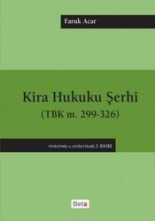 Beta Yayınevi - Kira Hukuku Şerhi