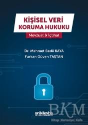 On İki Levha Yayınları - Kişisel Veri Koruma Hukuku: Mevzuat - İçtihat