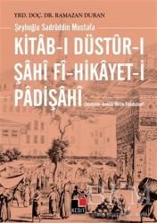 Kesit Yayınları - Kitab-ı Düstur-ı Şahi fi-Hikayet-i Padişahi