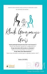 İdeal Kültür Yayıncılık Ders Kitapları - Klinik Görüşmeye Giriş