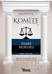 Temsil Kitap - Komite İdare Hukuku