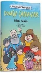Eğiten Kitap Çocuk Kitapları - Komşu Canavar - Kahkaha Canavarı